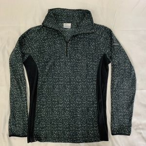Columbia Glacial Fleece Pullover Gray - Blue M